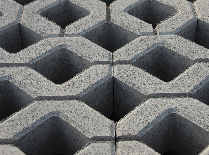Gyephézagos (60x40 cm) - szürke