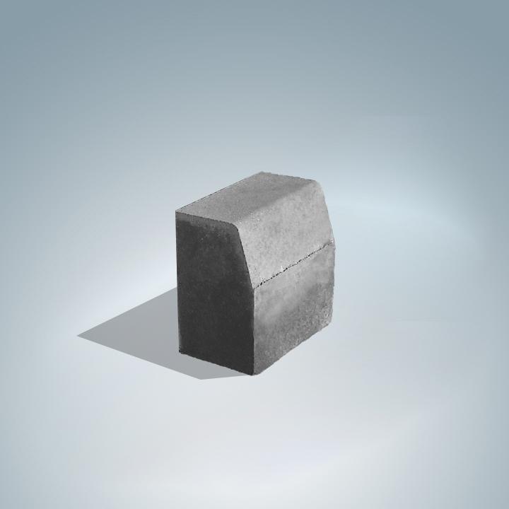 Kiemelt szegély 25x25x15 cm -