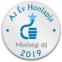 AZ ÉV HONLAPJA 2019 - Minőségi Díj